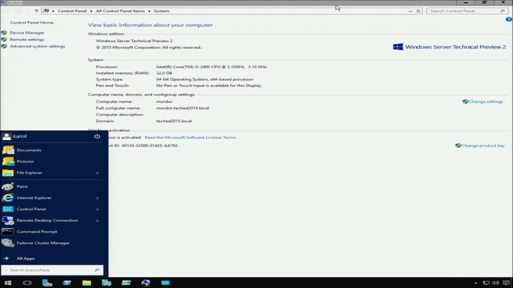 Full server GUI